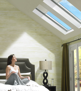 Velux skylights window depot usa west texas for How to clean velux skylights