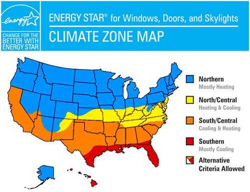Energy-Star-Climate-Zone-Map